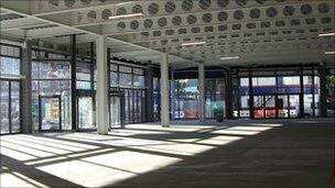 The new Blackburn market premises