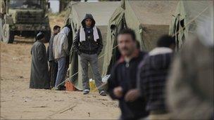 Evacuees from Libya generic