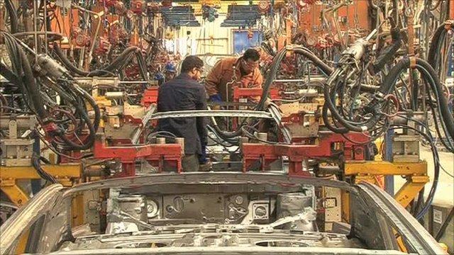 Inside a factory in Egypt