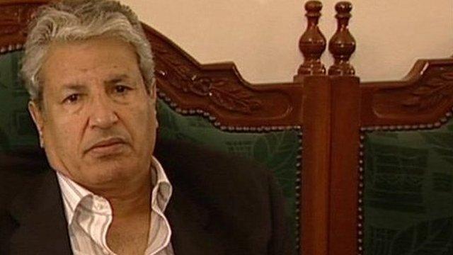 Former Libyan Interior Minister Gen Abdel Fattah Younes al-Abidi