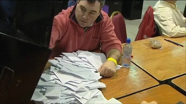 Votes being sorted