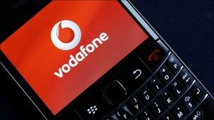 Vodafone Blackberry