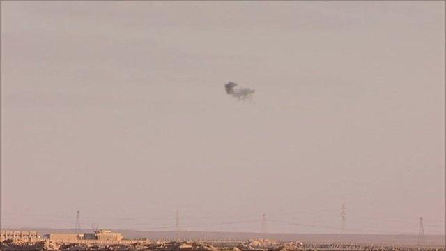 Ajdabiya's skyline