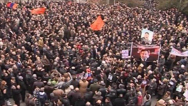 Protests in Armenia