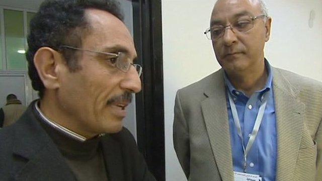 Hafeez Ghoga (left)