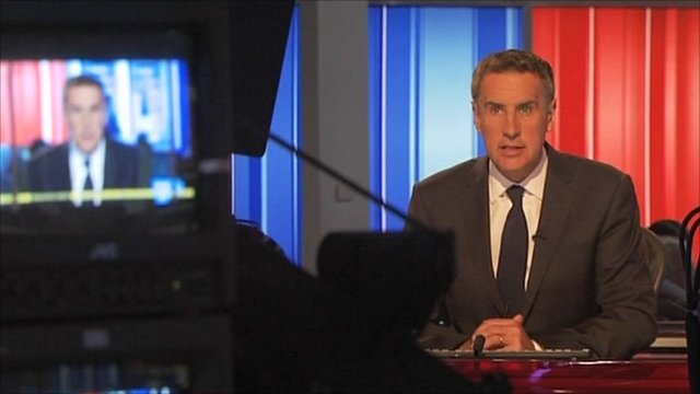 Sky News presenter Dermot Murnaghan