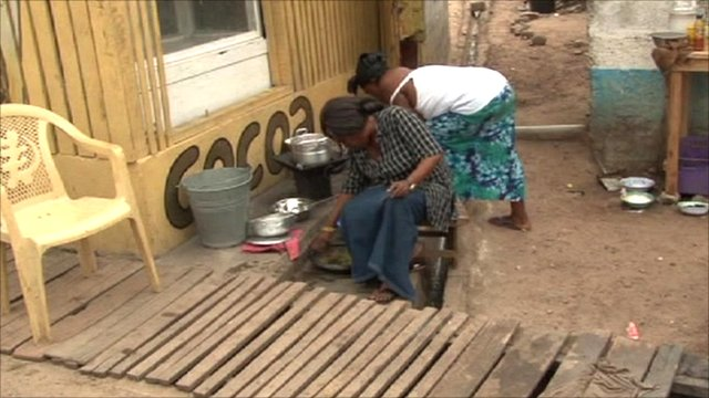 Women in Takoradi