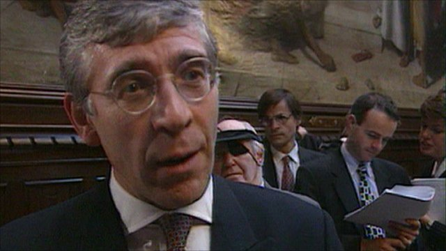 Jack Straw (1998 archive picture)