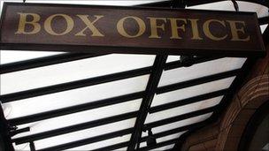 Box office sign generic