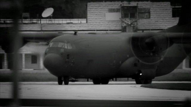 British military plane