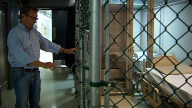 Rare glimpse inside Guantanamo Bay
