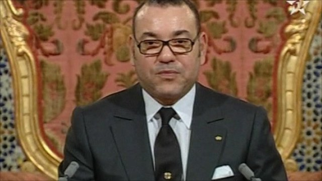 King Mohammad of Morocco
