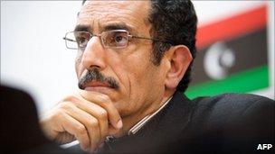 Abdul Hafez Ghoga, Benghazi, Libya (2 March 2011)