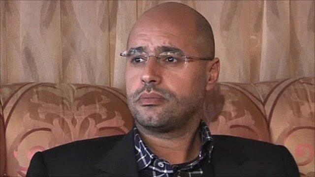 Col Gaddafi's son Saif al-Islam