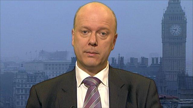 Employment Minister Chris Grayling