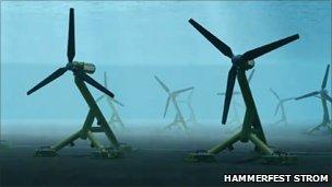 Tùirbinnean/Dealbh: Hammerfest Strom