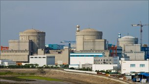 File image of the Qinshan nuclear power plant in Haiyan, in China's Zhejiang province