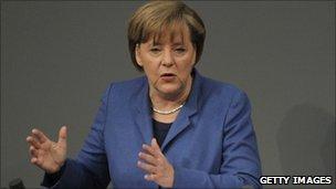 German Chancellor Angela Merkel (17 March 2011)