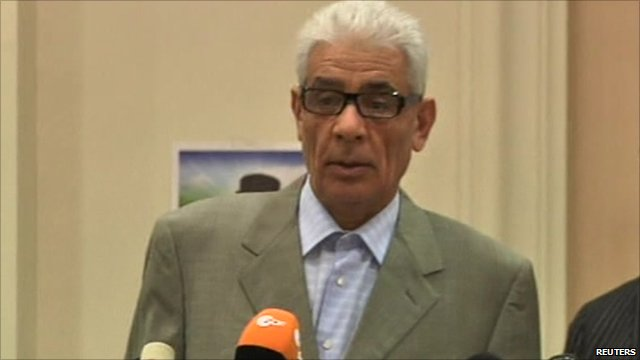 Libya's Foreign Minister Mussa Kussa
