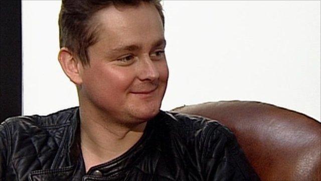 Tom Chaplin of Keane