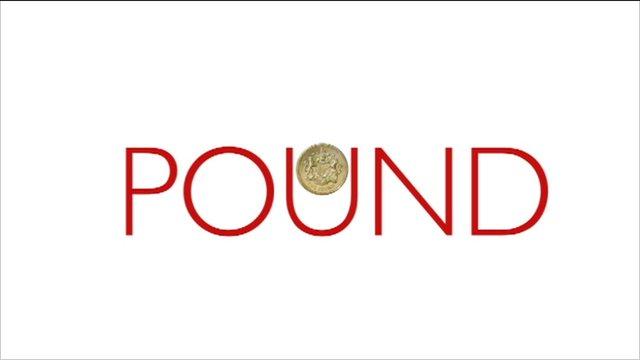 """BBC Graphic with """"pound"""" written"""