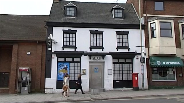 Swindon nightclub where Sian O'Callaghan was last seen