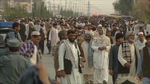Street in Lashkar Gar