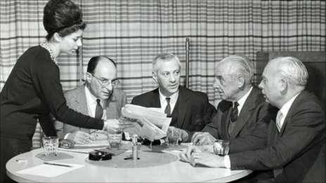 BBC Russian broadcast from 1950s