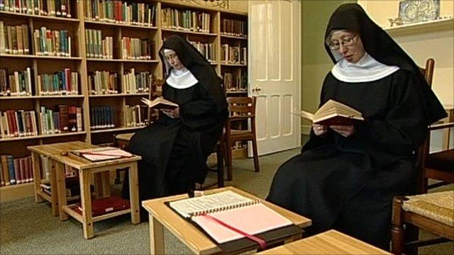 Two Benedictine Nuns at the Holy Trinity Monastery