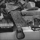 Horse-related gifts, including custom-made Western saddle from Levi Strauss Ltd