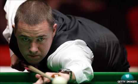 Stephen Hendry Scottish Snooker Player