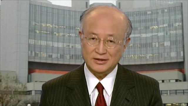 Yukiya Amano, Director General of the IAEA