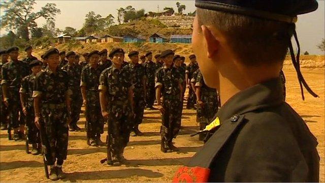 Naga guerrilla army