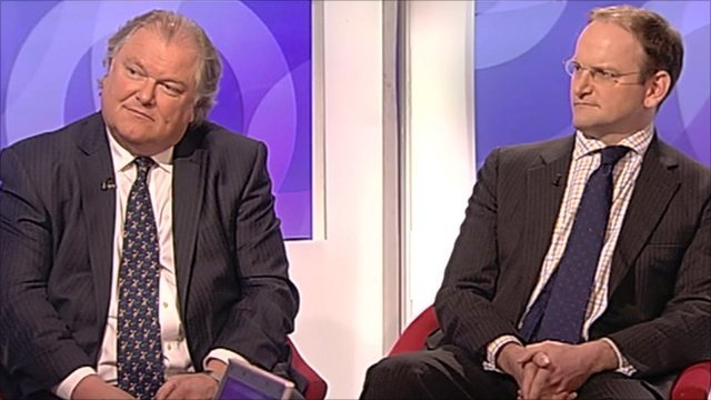 Digby Jones and Douglas Carswell