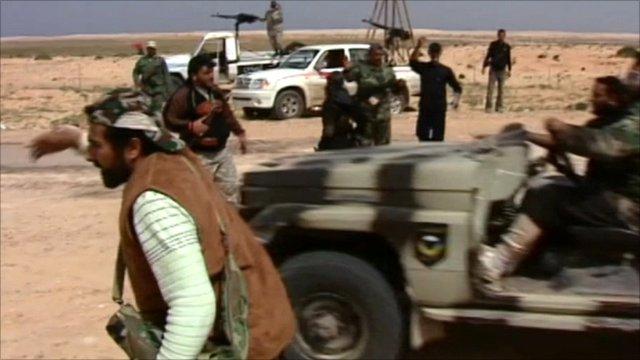 Rebel groups in Libya