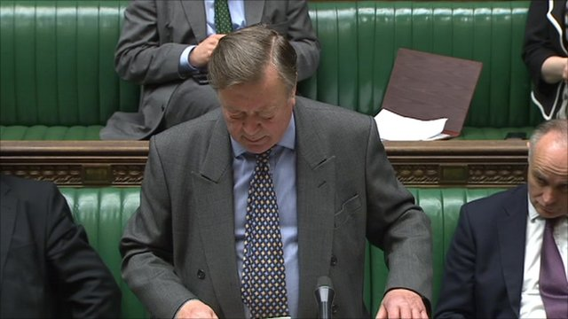 Justice Secretary Ken Clarke MP