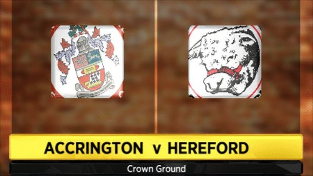 Accrington v Hereford