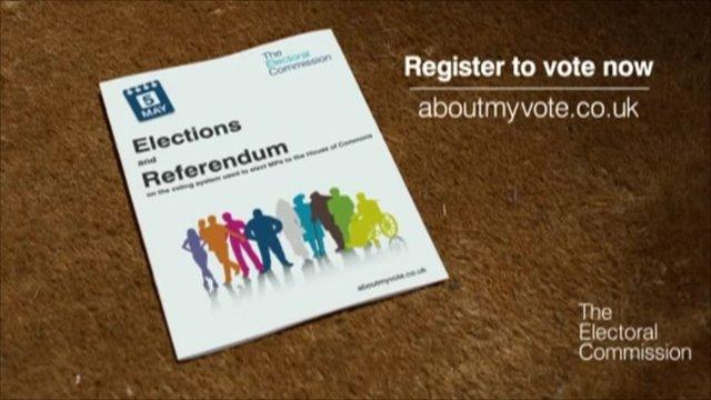 Election Referendum leaflet