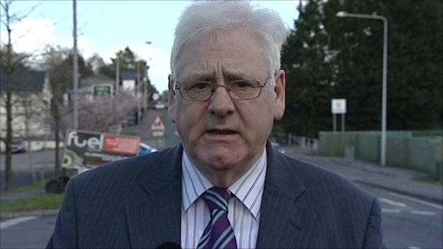 Michael Gallagher, whose son was one of the 29 killed in the last Omagh bomb in 1998