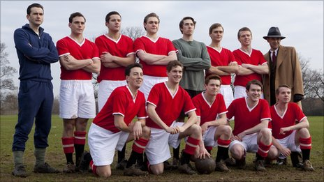 The cast of United