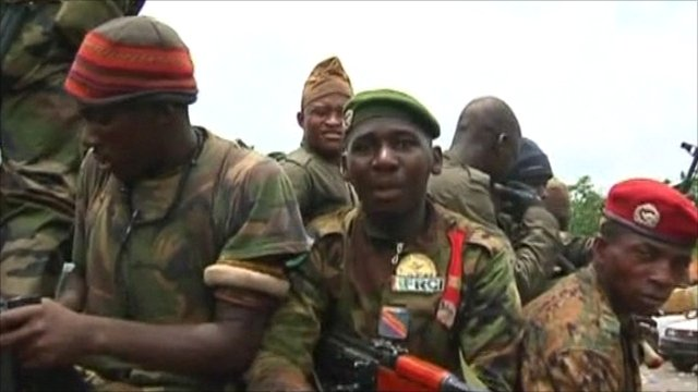 Ivory Coast forces