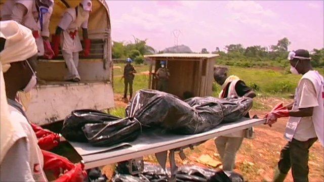 Victim in Ivory Coast