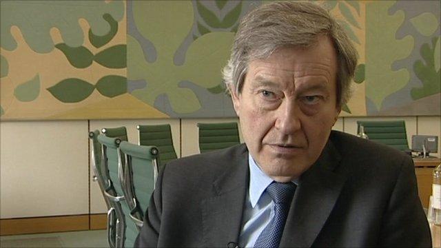 Committee chairman Stephen Dorrell