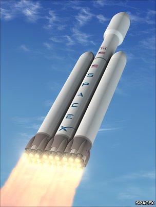 SpaceX Falcon 9-Heavy