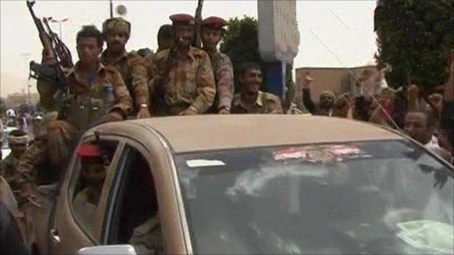 Soldiers in Yemen