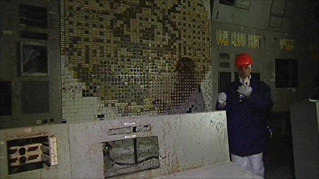 Daniel Sandford in Chernobyl