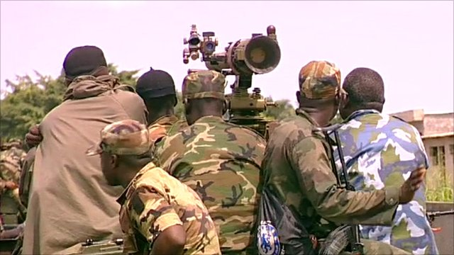 Troops loyal to Alassane Ouattara