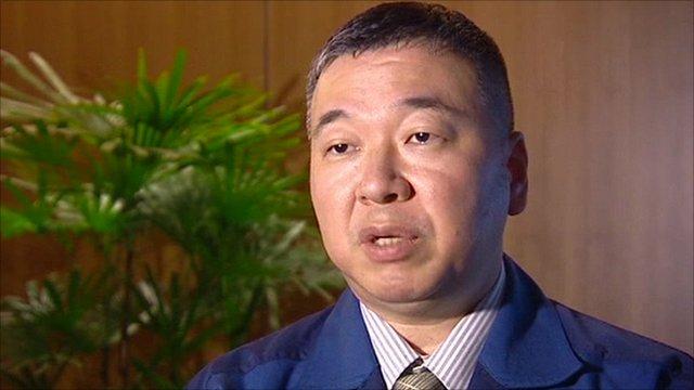 Tepco spokesman Hiro Hasegawa