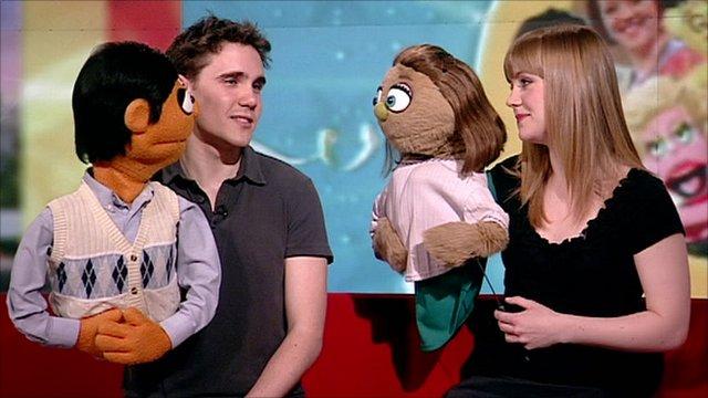 Adam Pettigrew and Rachel Jerram