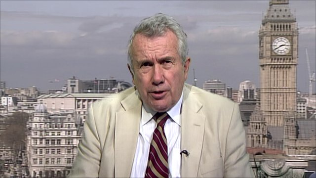 Former independent MP Martin Bell